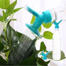 2PCS Watering Flower Small Nozzle Plastic Plant Seedling Waterers Bottle Sprinkler Nozzles Directional Watering Gardening Tools