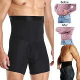 Men Body Shaper Compression Shorts Slimming Shapewear Waist Trainer Belly Control Panties Modeling Belt Anti Chafing Boxer Pants