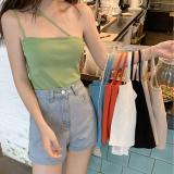 Sexy Halter Tank Crop Top Women Camis Backless Camisole