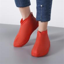 Waterproof Rain Shoes Cover Silicone  Rubber Non-skid Unisex Shoes Protectors Rain Boots for Indoor Outdoor Rainy Days Reusable