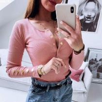 Women's Sexy Slim Half-Neck Sweater
