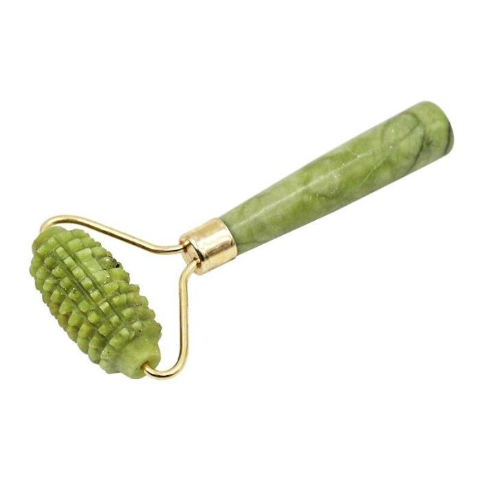 1PC Facial Massage Roller Single Heads Face Lift Hands Jade Stone  Relaxing Slimming Health Body Skin Care Tools