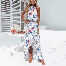 Sexy Bohemia Sleeveless Vacation Maxi Dress