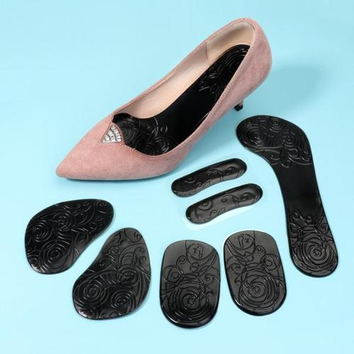 3ANGNI insoles 8 pieces Woman insole Insole accessories Relieve foot fatigue for high heels Rubber soft shoe pad