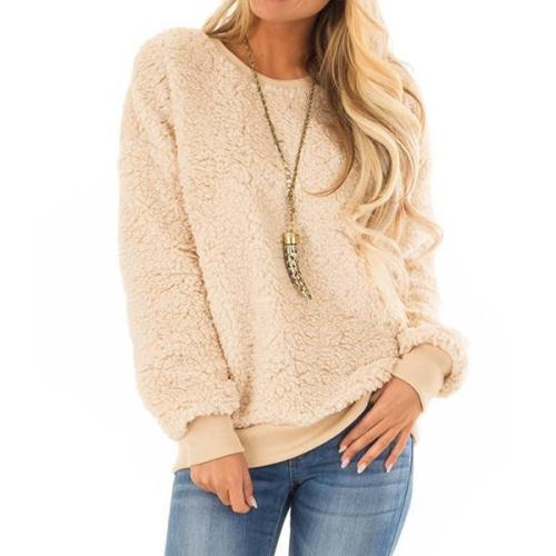 Teddy Bear Solid Color Sweater
