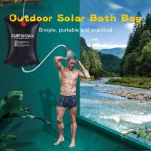 20L Portable Solar Heated Water Bag Energy Heated Bathing Outdoor Camping Shower Bag Picnic Water Bag BBQ Hiking Water Storage