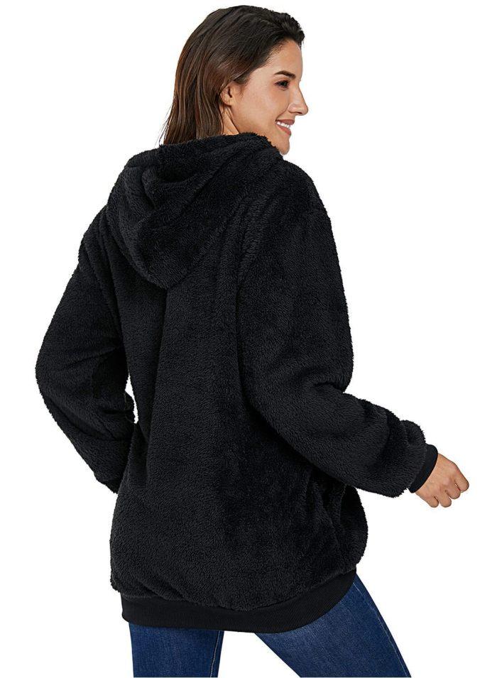 Hot Warm Furry Hoodie