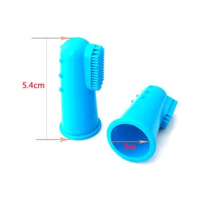 2pcs Pet toothbrush Super Soft Pet Finger Toothbrush Teddy Dog Brush Bad Breath Tartar Cat Teeth Clean Tool