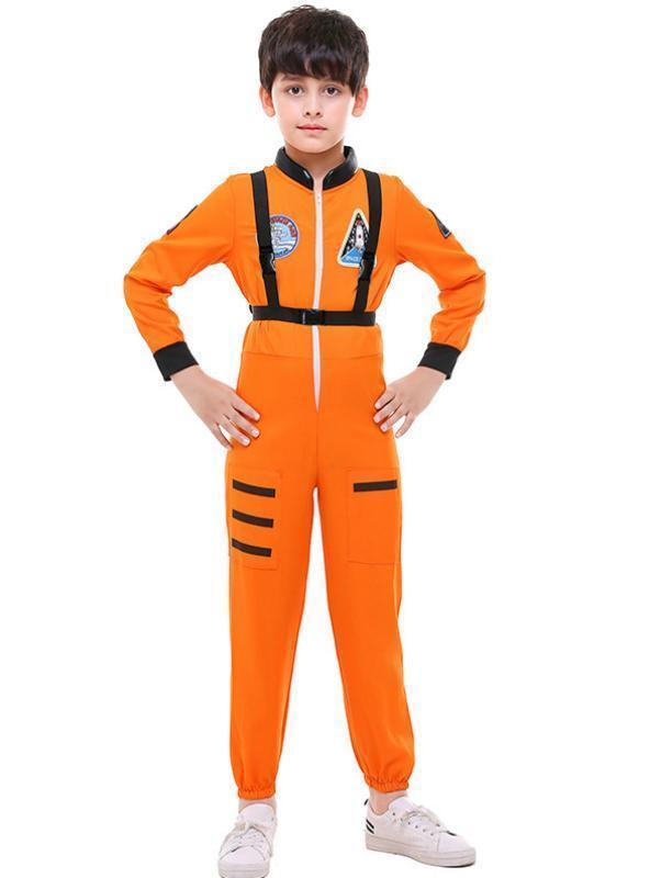 Space Astronauts Pilots Jumpsuits Baseball Suits