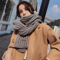 Women Winter Scarf Warm Solid Long Shawl Fashion