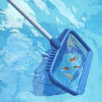 Swimming Pool Skimmer Rake Skimmer Net Tool Leaf Skimmer Rake Net Pool Skimmer Net Bag Catcher Aquarium Cleaning Tool