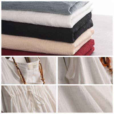 Casual Sleeveless Linen Dress