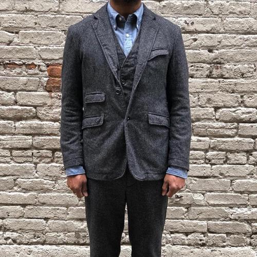 Men's Solid Color Lapel Casual Blazer
