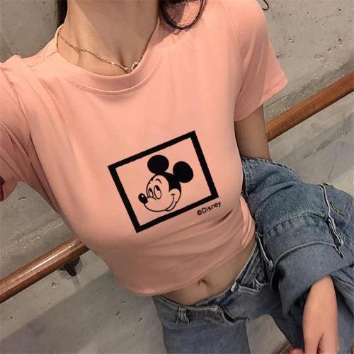 E girl crop top t shirt women graphic tees