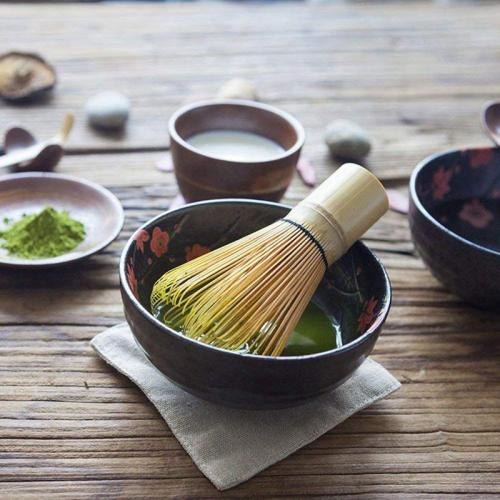 Japanese Matcha Tea Set(3 Pcs) - Matcha Bamboo Whisk Tea Spoon,-Tea Ceremony Kit
