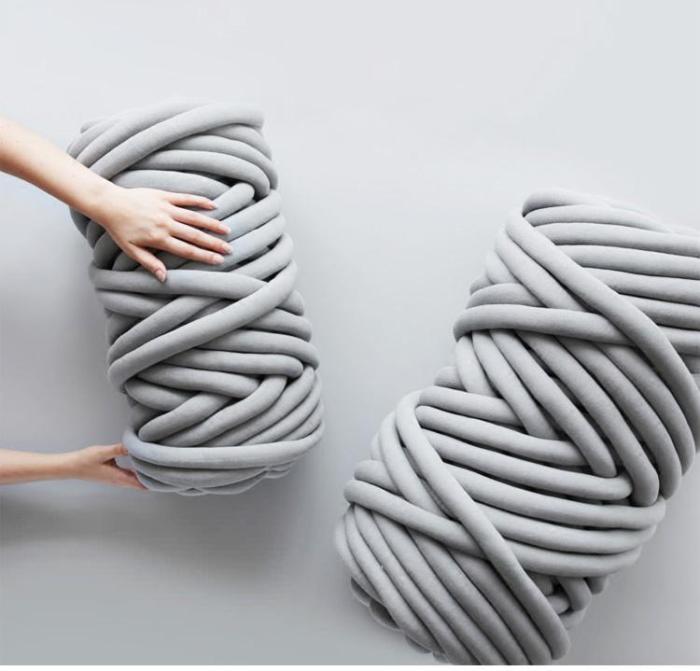 500g Super Thick Chunky Yarn For Knitting Merino Wool Yarn 2cm Thick Yarns For Hand knitting Blanket Crochet Nest