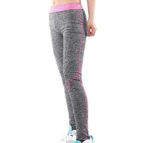 Patchwork Elastic High Waist Yoga Sport 9/10 Leggings