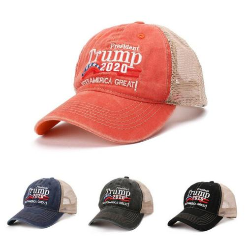 President Donald Trump 2020 USA Flag Baseball Cap Hat Make America Great Again Embroidered Hats