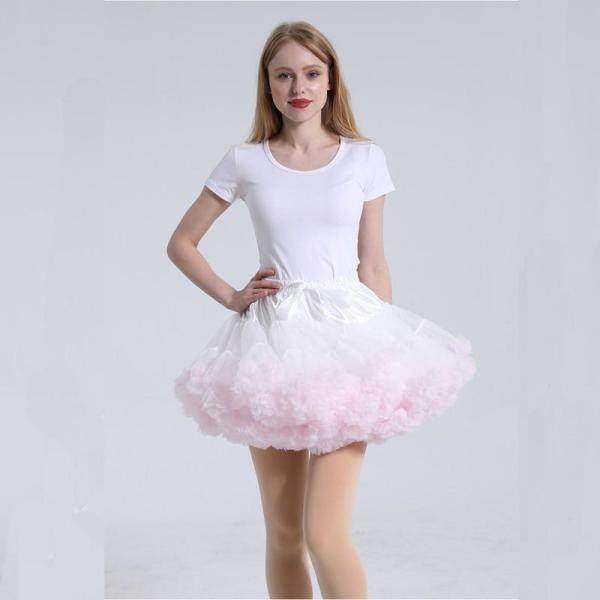 2020 Ruffles Petticoat Underskirt Women Mini Petticoat Tulle Puffy Short Vintage Wedding Bridal Petticoat Rockabilly TuTu