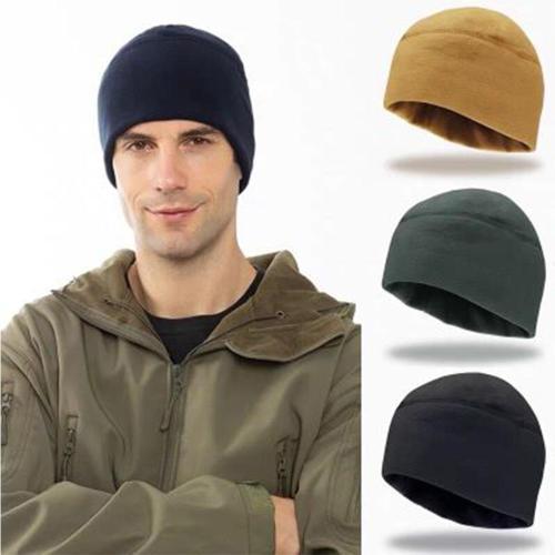 Outdoor Riding Fishing Hiking Windproof Warm Fleece Cap Men Women Winter Climbing Hunt Training Breathable Thermal Tactical Hat