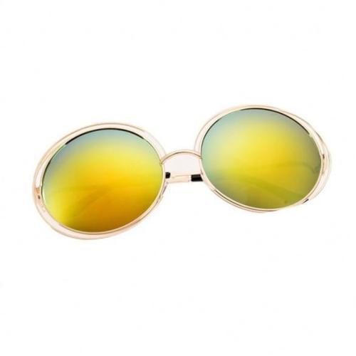 Fashion Women 7 Colors Retro Casual Round Sunglasses