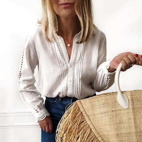 Fashion womens long sleeve shirt