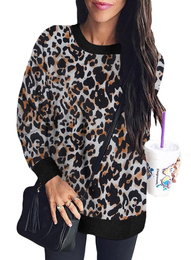 Digital Camo Print Sweatshirt