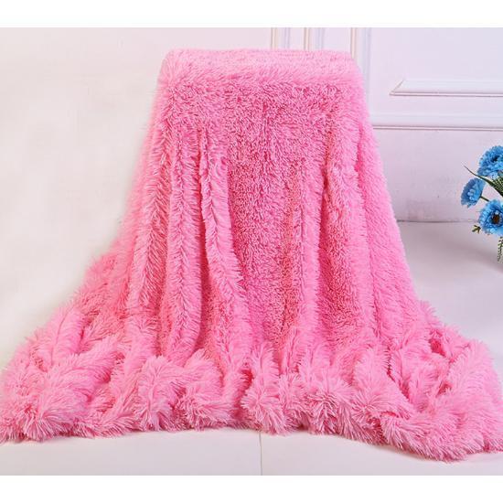 Chic Home Faux fur Fleece Blanket