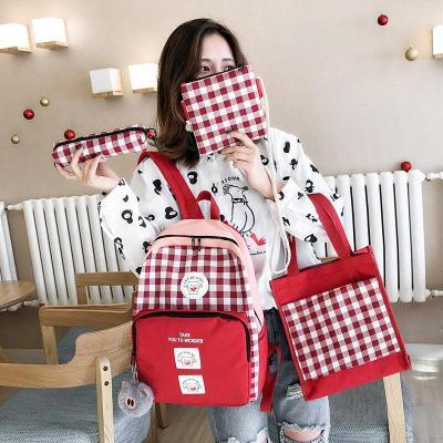 Mochila escolar informal de moda de 2020 para estudiantes con la misma salida mochilas universitarias y para viajar de gran