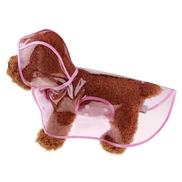 Pet Raincoat Breathability Windproof Waterproof Raincoat Dog Raincoat Pet Clother Cat Animal Cartoon High Quality Rainwear #15