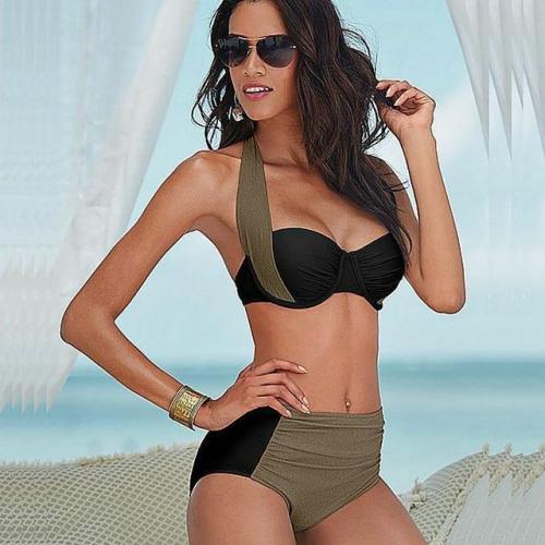 Sexy Sporty High-waist Bikini Set