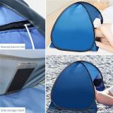 Portable Awning Mini Head Pop-up Tent UV Protection Quickly Folded Stretched Mini Head Pop Up Tent For Beach Sunbathing