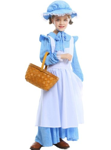 Cos Farm Costumes For Halloween Girls