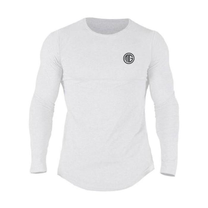 Men's Oversize Sports Long Sleeve T-Shirt