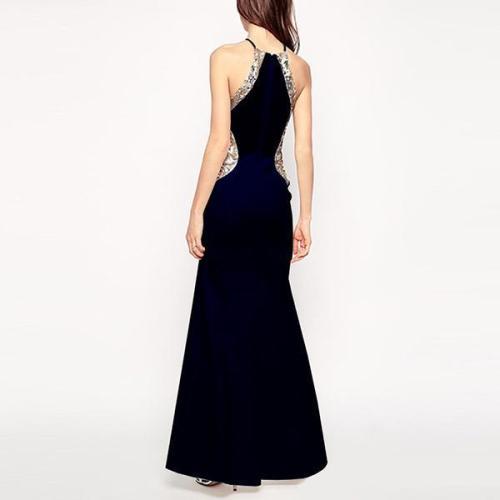 Women's Evening Dress Slim Long Bodycon Dress