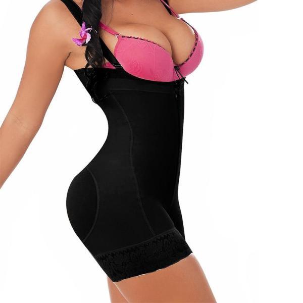 Woman Slim Underwear One Piece Bodysuit Shapewear Lady Underbust Body Shapers  Plus Size Waist Trainer