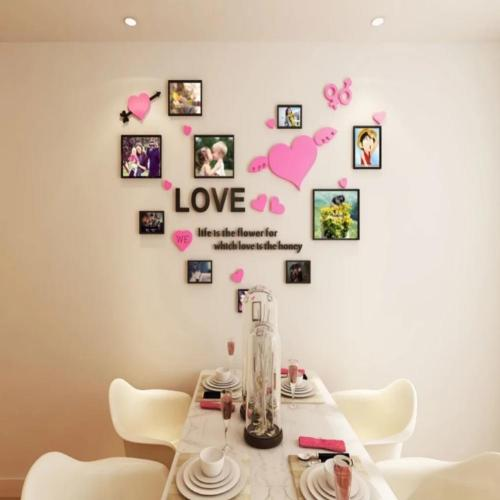 Three-dimensional wall stickers, warm stickers, home decorations