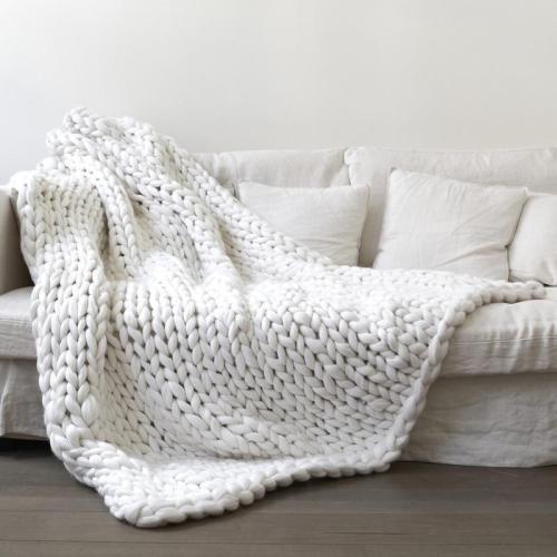 250g Super Thick Natural Soft Merino Wool Yarn Felt Wool Roving Yarn for Knitting
