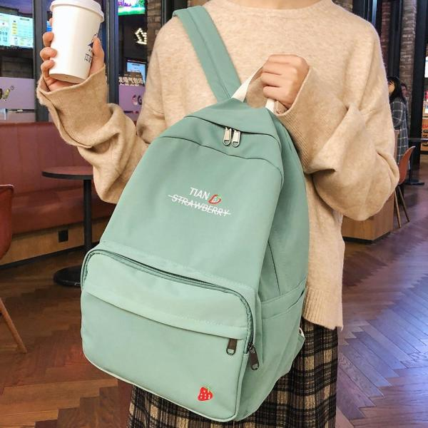 Women Harajuku Backpack Cute Female Fashion Waterproof School Bag Girl Book Nylon Backpacks Kawaii Student Ladies Bag Luxury New