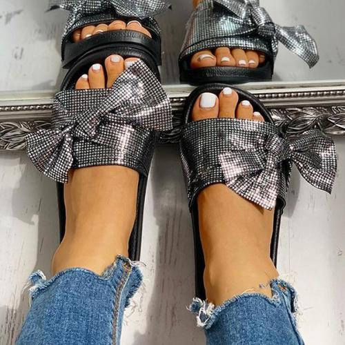 Pairmore Bowknot Casual Flat Sandals