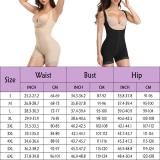 Plus Size Women Full Body Shaper women slimming shapewear waist control bodysuits slim waist trainer tummy girlde butt lifter