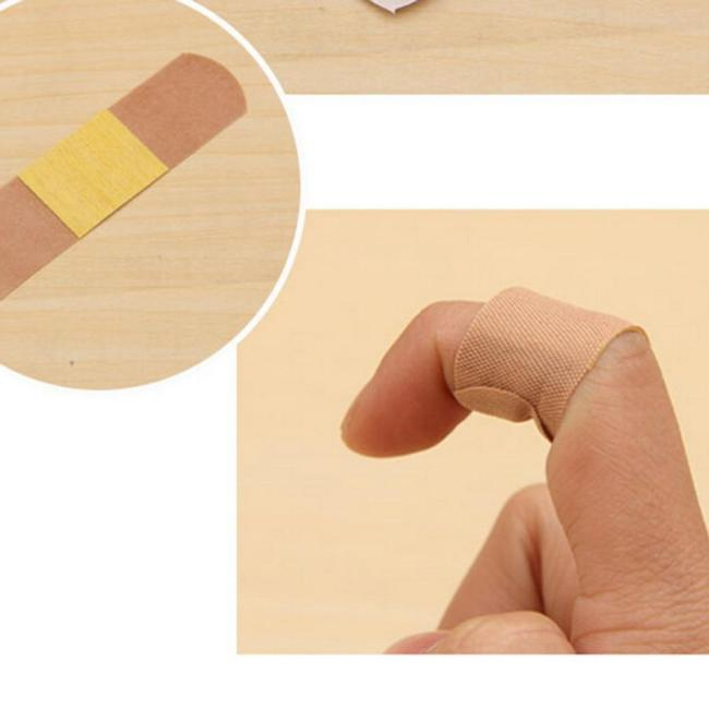 20pcs 5*2.8CM Medical Adhesive Wound Band Aid Bandage Medical Treatment Sterile Haemostasis Stickers First Aid Kits