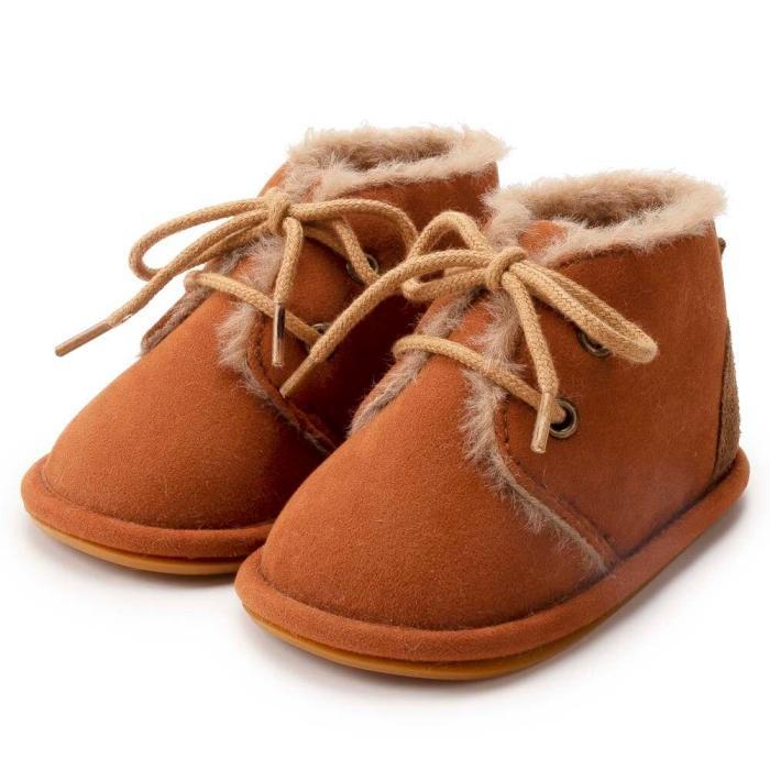 2020 New Baby Shoes Winter Fleece Cute Warm Shoes Boy Girl Newborn Shoes Anti Slip Toddler Unicorn Sneakers Crip Shoes