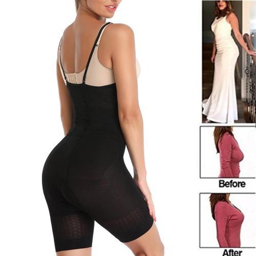 Women Slimming Waist Trainer Burn Fat Briefs Shapewear Tummy Control Bodysuit Full Body Shaper Pulling Underwear Faja Jumpsuit