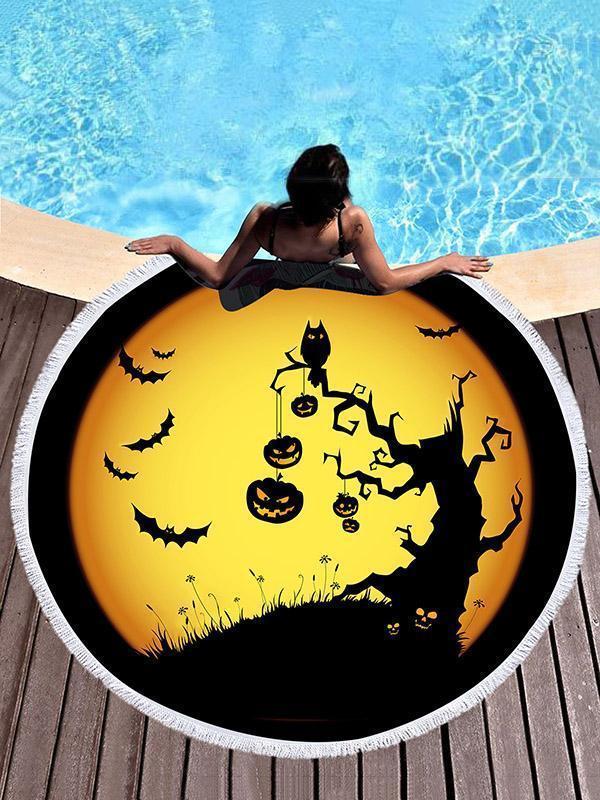 Halloween Subject Printed Beach Mats