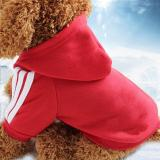 2020 New Autumn Winter Pet Products Dog Clothes Pets Coats Sweater Soft Cotton Dog Hoodies Clothing for Puppy Dogs 7 Colors