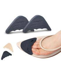 1 Pair Women High Heel Half Forefoot Insert Toe Plug Cushion Pain Relief Protector Fashion Big Shoes Toe Front Filler Adjustment