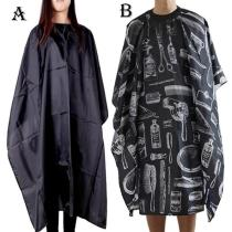 Salon Hairdressing Cape Hairdresser Hair Cutting Gown Barber Cape Hairdresser Cape Gown Cloth Waterproof Hair Cloth d2