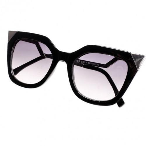 Women's Retro Square Frame Big Lens Eyewear Shades Sunglasses