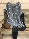 Simple Fashion Short Sleeve Loose Casual T-shirt